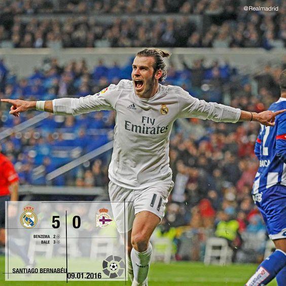 Real Madrid 5-0 Deportivo