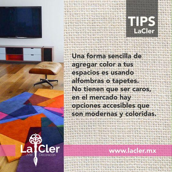 ¡¡Consigue alfombras y tapetes coloridos para tu casa!! #tipLaCler foto de: http://goo.gl/OSHaQg