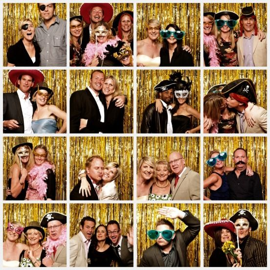 Photo booth with flash!