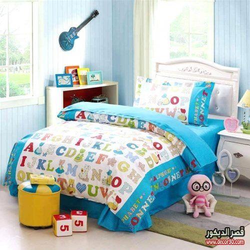 مفرش سرير اطفال مودرن لأحلى غرف الأطفال 2018 قصر الديكور Kids Mattress Mattress Cool House Designs
