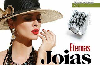 REVISTA BIJOUX - Joias, um dos maiores objetos de desejo das mulheres. Veja matéria com coleção de Francesca Romana Diana e fotos de Bob Wolfenson.