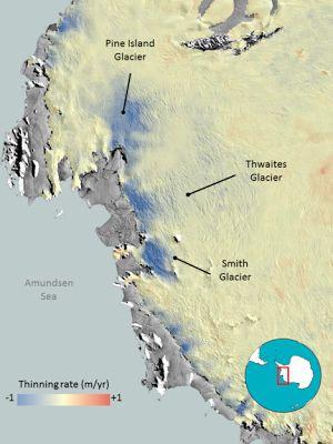 Desgelo na Antártida