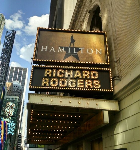 """Broadway's newest sensation is """"Hamilton"""".  A hip-hop infused contemporary telling of the story of founding father Alexander Hamilton. This show is thrilling!"""
