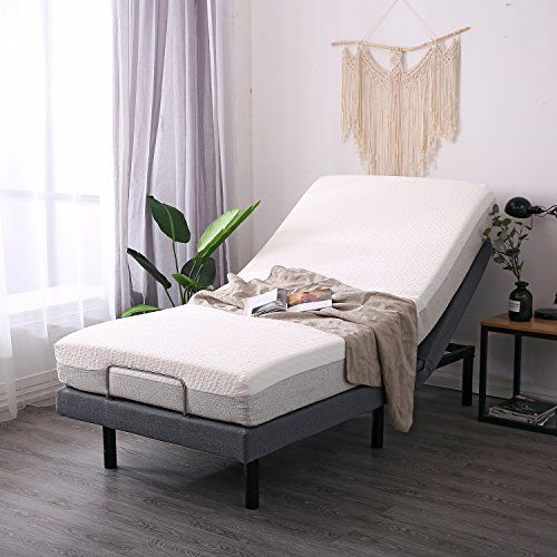 Leisuit Adjustable Bed Frame With Back Foot Massage Wireless