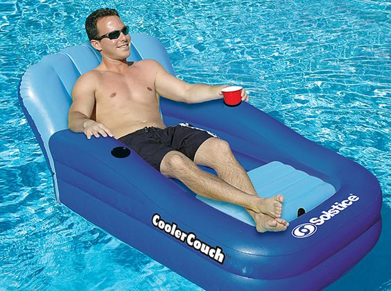 Cooler Couch | 22 Ridiculously Awesome Floats