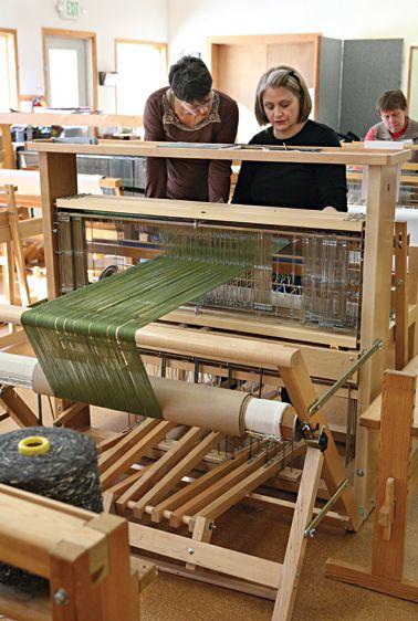 The Weaving Studio at the John C. Campbell Folk School | folkschool.org