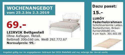 Ikea Bielefeld Leirvik Bettgestell Weiss 200x160 Cm Bettgestell Ikea Und Ikea Bielefeld