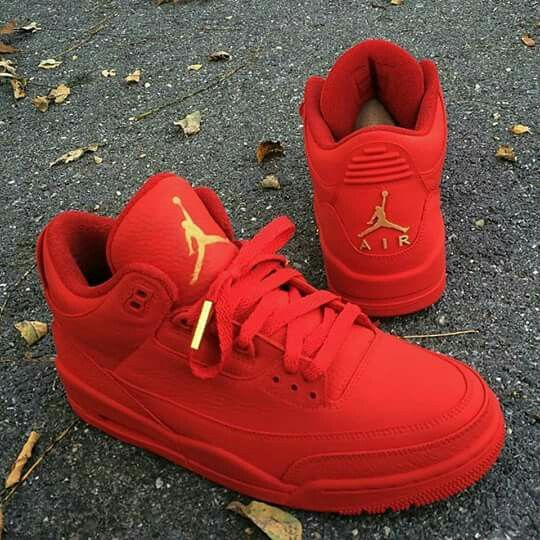 red jordan shoes