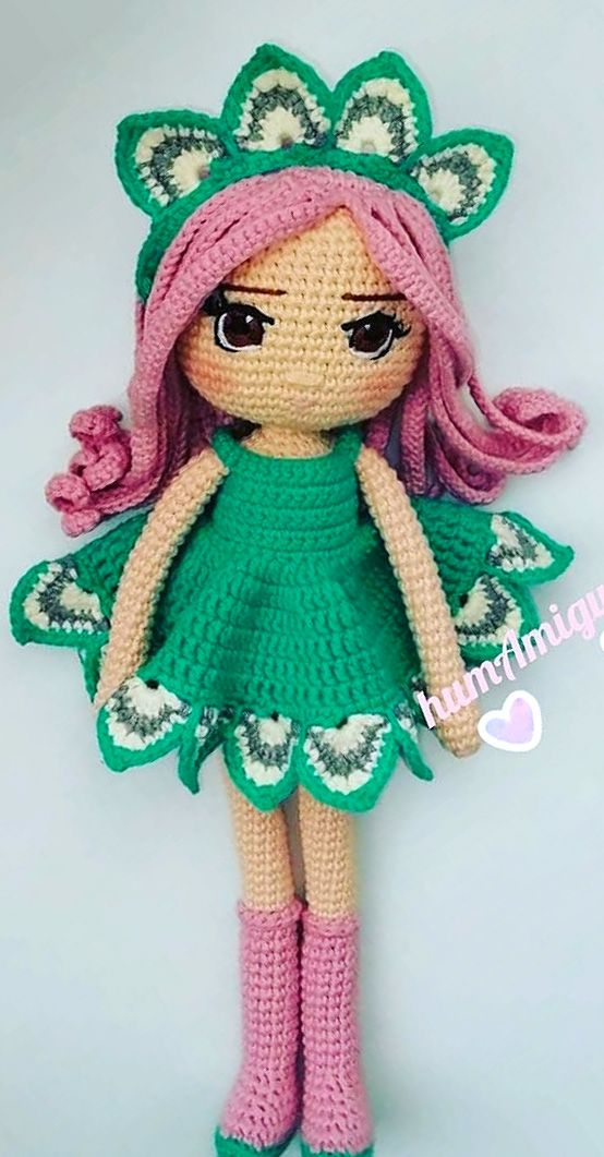 Awesome and Cute Crochet Little Amigurumi Doll Images and Ideas ... | 1061x554