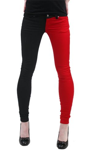 Look what I found on #zulily! Ombre Red Skinny Jeans by Frankie B ...