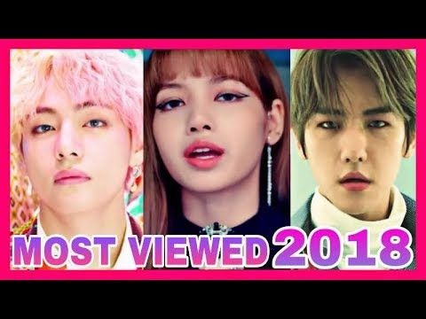 Top 3 Most Viewed Kpop Music Videos Each Month 2018 Youtube