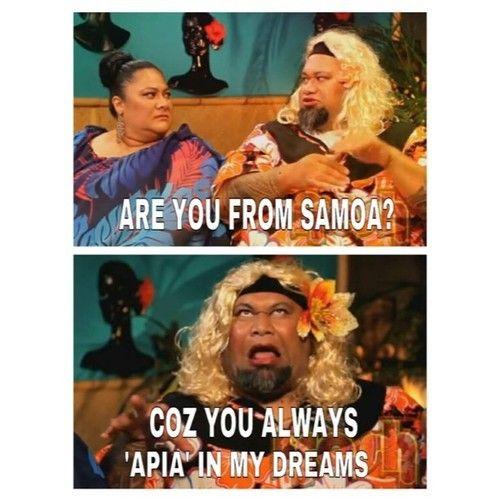 Samoan Tattoos: Samoan Jokes- Poka Samoan