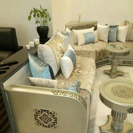 Farisdecor Tendance Decor Marocain 2020 الجديد في الديكور المغربي Home Room Design Moroccan Living Room Luxury Sofa