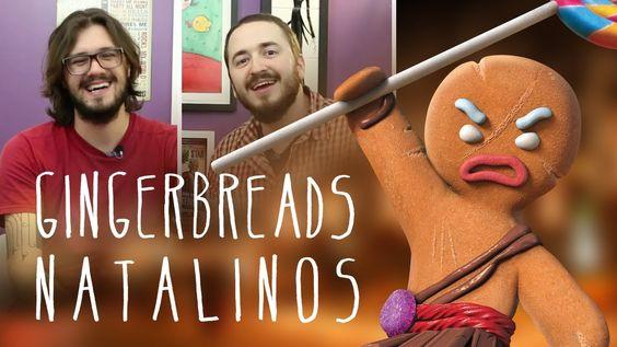 Gingerbreads de natal | Miolos Fritos Culinária Nerd