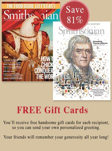 Give the gift of Smithsonian Magazine (year subscription)