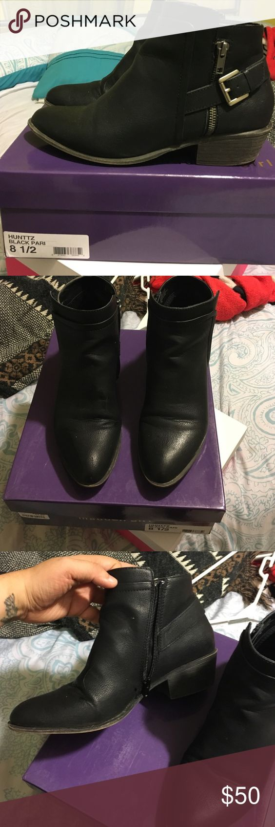 Madden Girl Hunttz boogie Runs true to size Madden Girl Shoes Ankle Boots & Booties