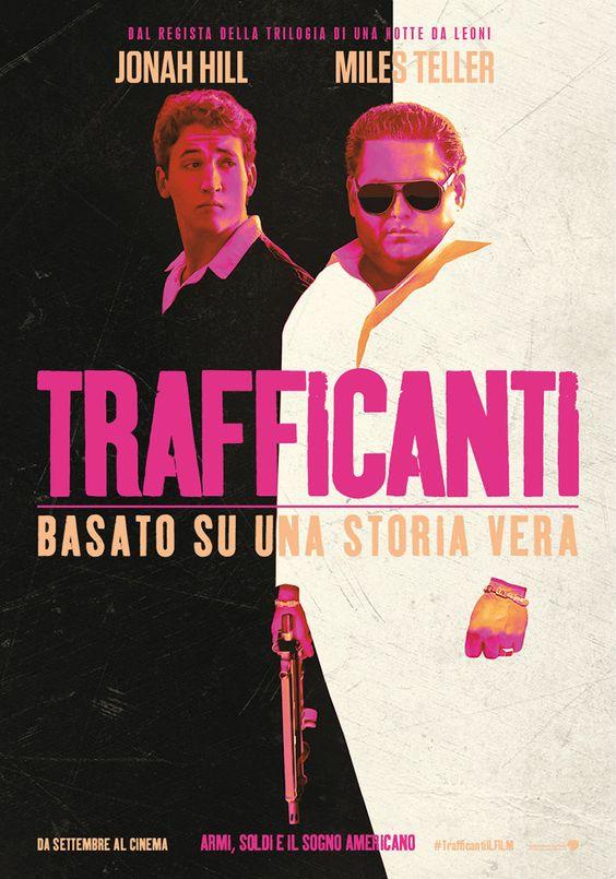 Trafficanti (War dogs, USA 2016) - poster Italia design by B O N D