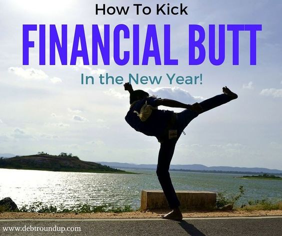 How to Kick Financial Butt in the New Year personal finance resources, personal finance tips #PF
