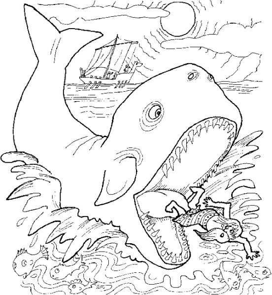 Jonah Coloring Pages Whale Coloring Pages Bible Coloring Pages Jonah And The Whale