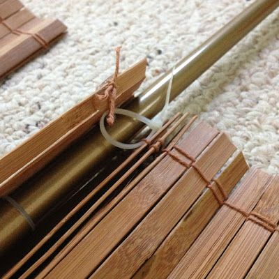 How to Make Cheap Bamboo Blinds with a simple Hack!