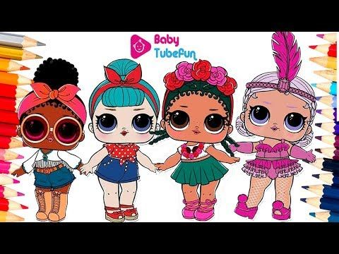 Colouring Lol Surprise Dolls Colouring Pages Foxy Bb Bop