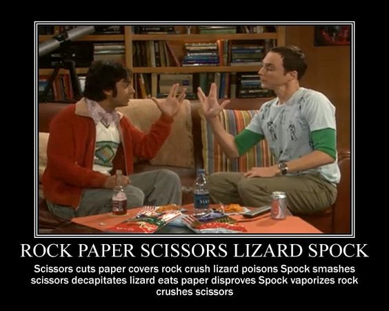 Big Bang Theory: Movies Tv, Bigbangtheory, Funny Pictures, Rock Paper Scissors, Funny Stuff, The Big Bang Theory
