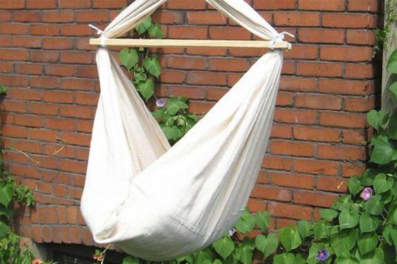 DIY: zelf een baby hangmat maken