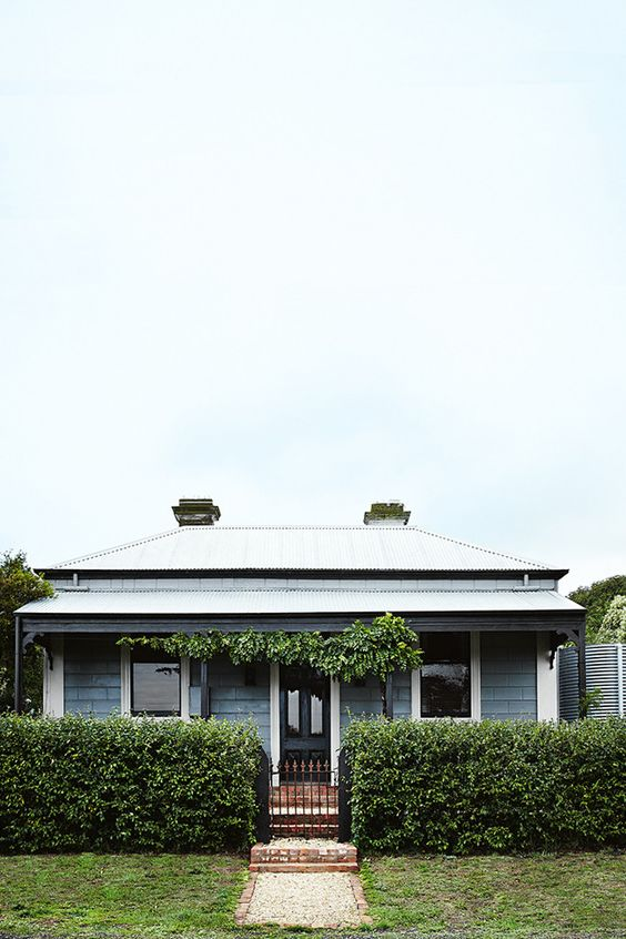 Weatherboard Cottage In Victoria Australia Photographed