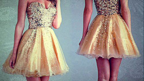 parece meu vestido de formatura