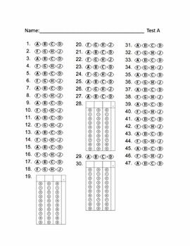 math worksheet : free bubble answer sheets for staar practice test a and b  school  : 3rd Grade Math Staar Test Practice Worksheets