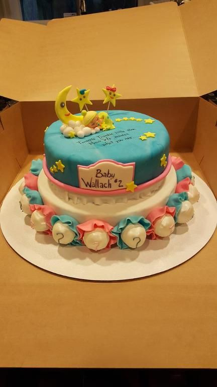 Looking for cake decorating project inspiration? Check out gender revealing cake by member lo-cal delights.