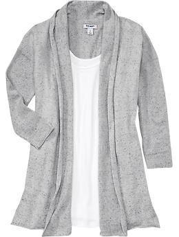 Women's 3/4-Sleeve Open-Front Cardigans  Available at Old Navy $18