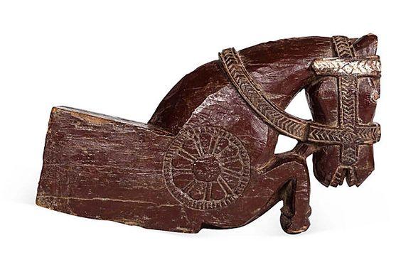 Gina Berschneider  19th-C. Maharashtra Horse Head