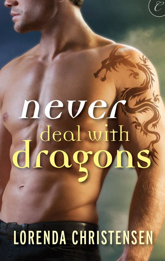 Naked chests are always the way to go... My book cover for my debut release, Never Deal with Dragons. Out July 22nd.