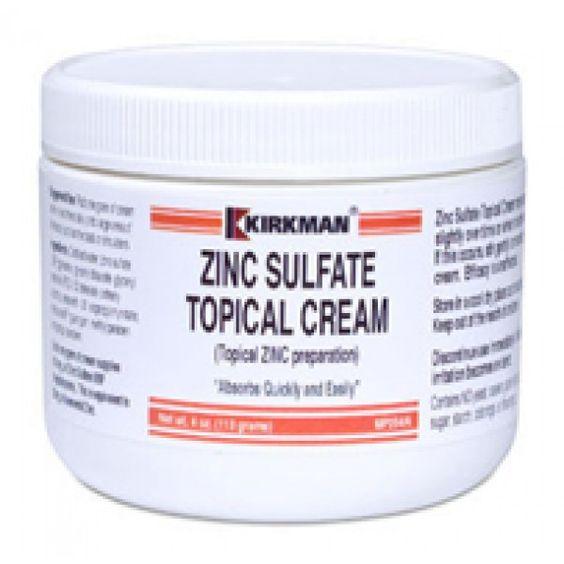 Zinc cream acne