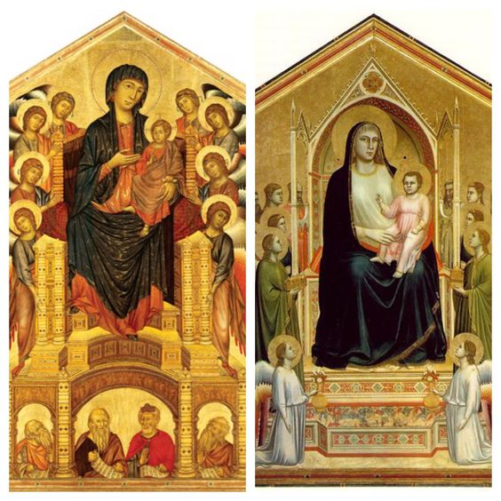cimabue and giotto relationship problems