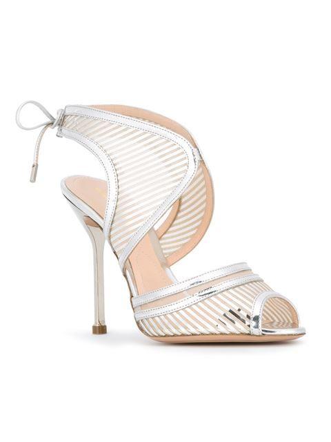 Nicholas Kirkwood sandales métallisées