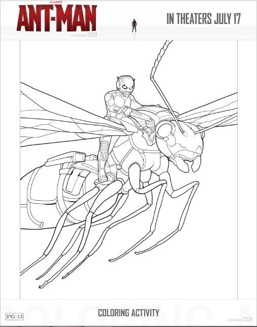 Disney Ant Man Printables To Make Your Family Movie Night Extra Fun Avengers Coloring Pages Superhero Coloring Pages Avengers Coloring