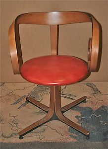 VINTAGE GEORGE MULHAUSER DESIGNED SULTANA CHAIR CHERNER PLYCRAFT ULTRA RARE!  Gorgeous...