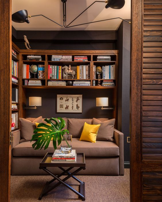 intimate and cosy - perfect place to whole oneself up to read a great book -  Midtown Pied-a-Terre | Villalobos & Desio