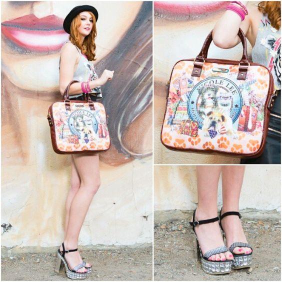 A special bag for your special gadget  #nicolelee #nicoleleeusa #bag #laptopbag #special #petlovers #printbag #gadget #fashion #fashionista #style #styleguide #stylegirl #fashiongram #instafashion