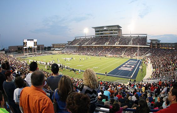 More than 20,000 fans jammed in and around Eagle Stadium for Allen's 2015 opener against Guyer.