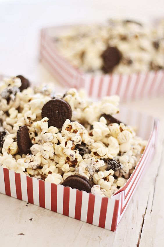 Cookies and cream, Popcorn and Cream on Pinterest