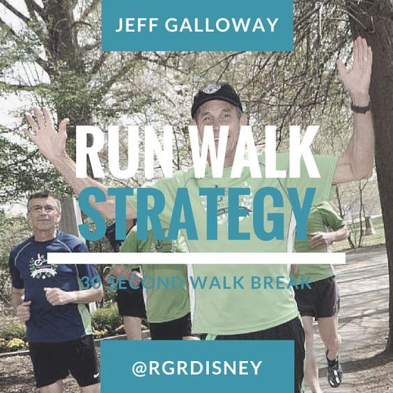 New Run / Walk Strategy - Jeff Galloway Training and Motivation Tips ~ run. geek. run(disney)