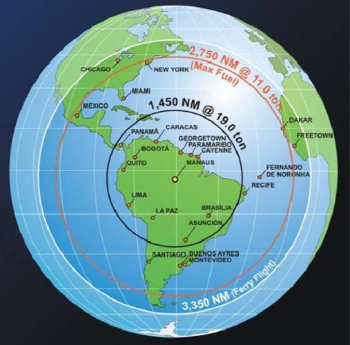 Um mapa mundi centralizado na América do Sul !