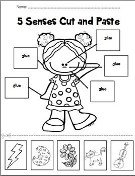 ... this interactive cut and paste sheet two sheets are included one with