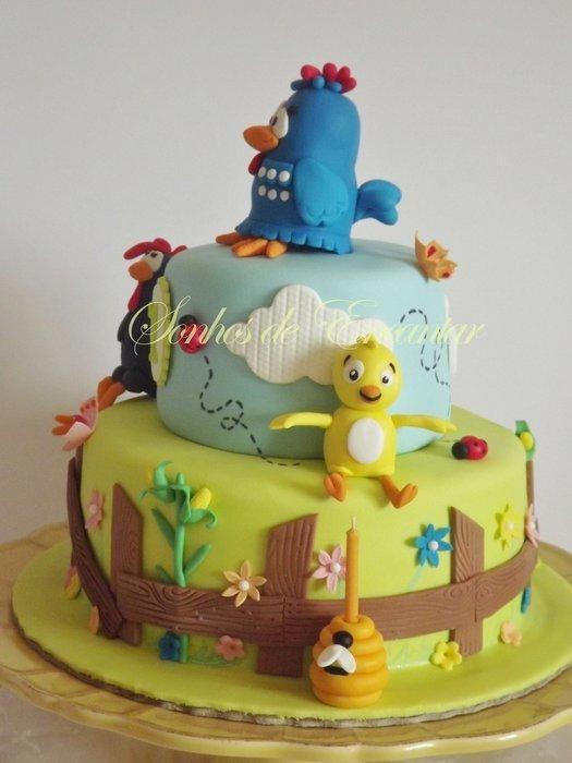 Galinha pintadinha - Cake by Sonhos de Encantar by Sónia Neto - CakesDecor