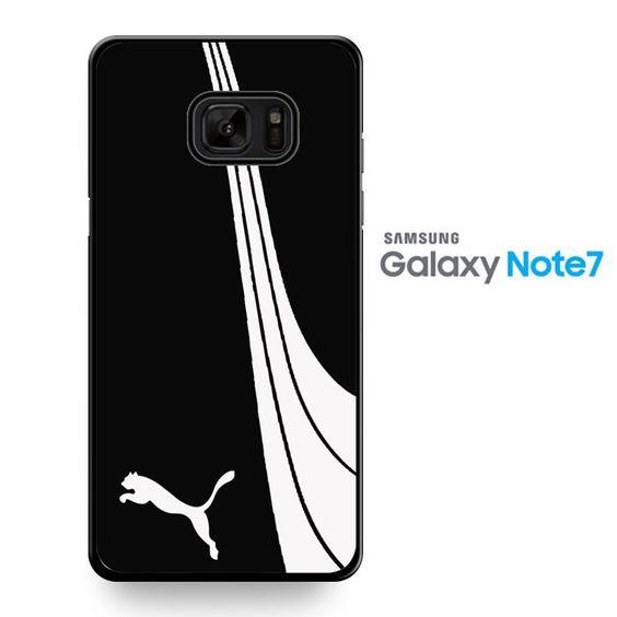 Puma Black White TATUM-8972 Samsung Phonecase Cover For Samsung Galaxy Note 7