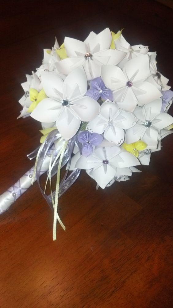 origami bridal bouquet ball pinterest origami