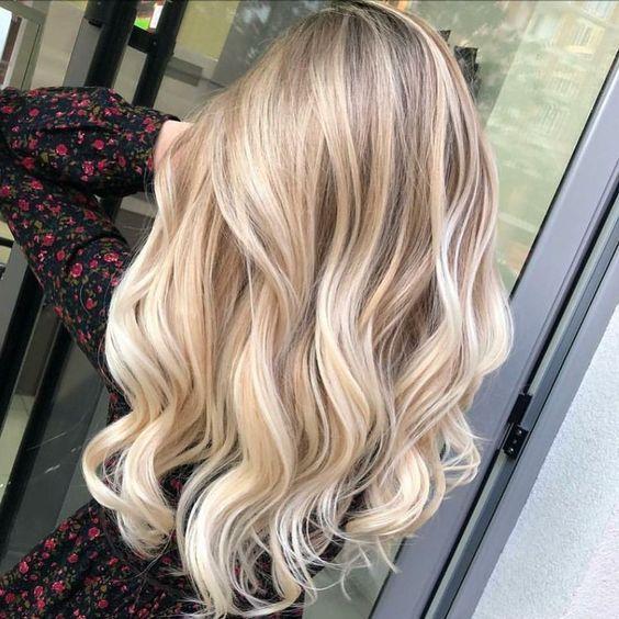 Cute Blonde Highlights Hair Styles Strawberry Blonde Hair Dye Balayage Hair